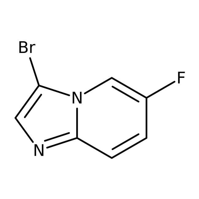 3-Bromo-6-fluoroimidazo[1,2-a]pyridine, 97%, ACROS Organics™  3-Bromo-6-fluoroimidazo[1,2-a]pyridine, 97%, ACROS Organics™