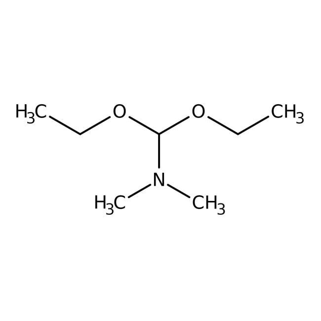 Diéthylacétal de N,N-diméthylformamide, 95%, AcrosOrganics 50g; flacon en verre Diéthylacétal de N,N-diméthylformamide, 95%, AcrosOrganics