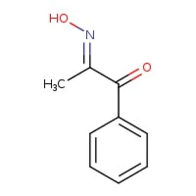 1-Phenyl-1,2-propanedione-2-oxime, 99%, ACROS Organics