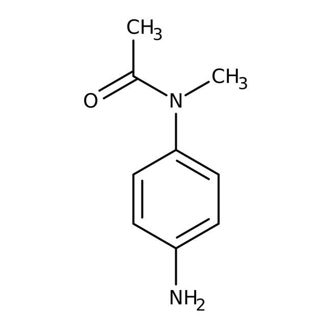 N1-(4-Aminophenyl)-N1-methylacetamide, 97%, Maybridge™ Amber Glass Bottle; 250mg N1-(4-Aminophenyl)-N1-methylacetamide, 97%, Maybridge™