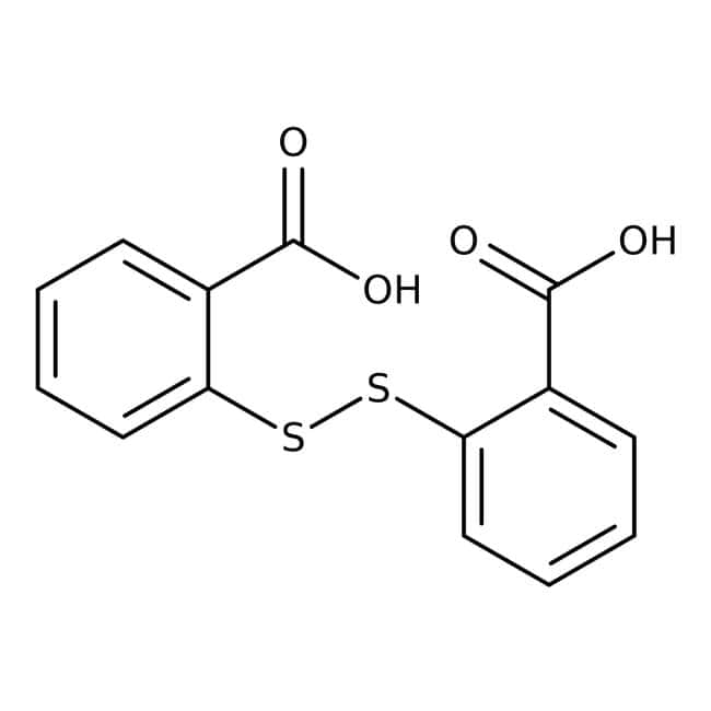 2,2'-Dithiosalicylic acid, 98%, ACROS Organics™ 500g; Plastic bottle 2,2'-Dithiosalicylic acid, 98%, ACROS Organics™