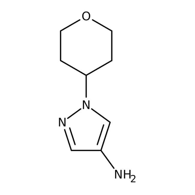 1-Tetrahydropyran-4-yl-1H-pyrazol-4-ylamine, 97%, ACROS Organics™  1-Tetrahydropyran-4-yl-1H-pyrazol-4-ylamine, 97%, ACROS Organics™