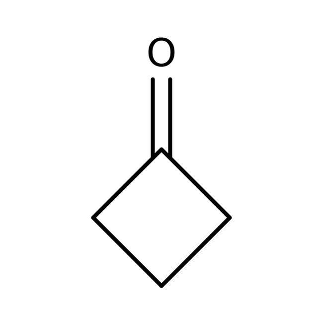 Ciclobutanona, 98%, ACROS Organics™ 5g; frasco de vidrio Ciclobutanona, 98%, ACROS Organics™