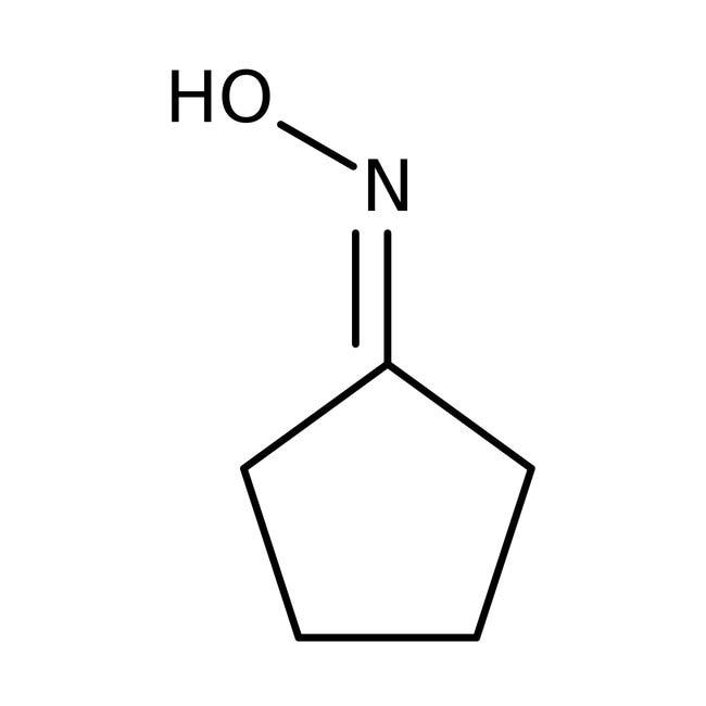 Alfa Aesar™Cyclopentanonoxim, 97%: Oximes Organonitrogen compounds