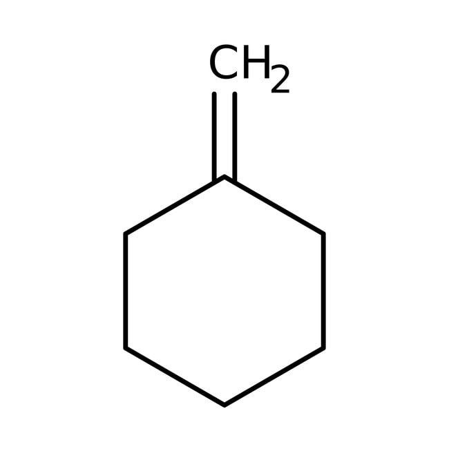 Methylenecyclohexane, 98%, ACROS Organics™ 5g; Glass bottle Methylenecyclohexane, 98%, ACROS Organics™
