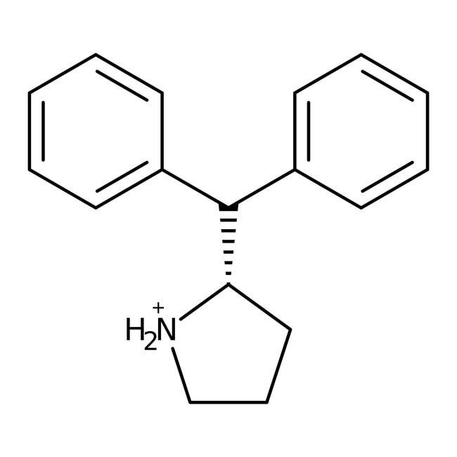 (S)-2-Diphenylmethylpyrrolidine, 97+%, ACROS Organics™ 250mg; Glass Ampule with screw-cap (S)-2-Diphenylmethylpyrrolidine, 97+%, ACROS Organics™