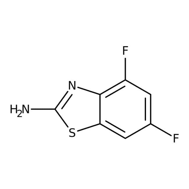Alfa Aesar™2-Amino-4,6-difluorobenzothiazole, 97%
