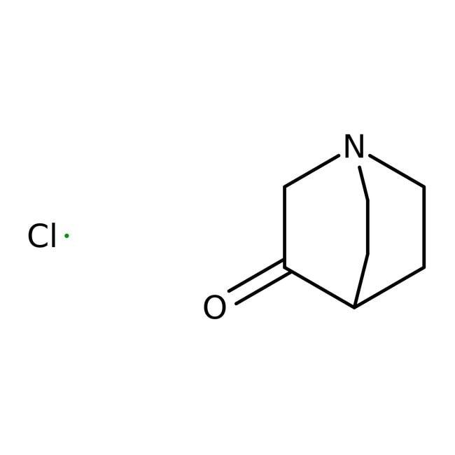 Alfa Aesar™Clorhidrato de 3-quinuclidinona, +98 % 5g Alfa Aesar™Clorhidrato de 3-quinuclidinona, +98 %