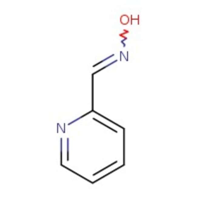 syn-2-Pyridinealdoxime, 99+%, ACROS Organics™ 25g; Glass bottle syn-2-Pyridinealdoxime, 99+%, ACROS Organics™