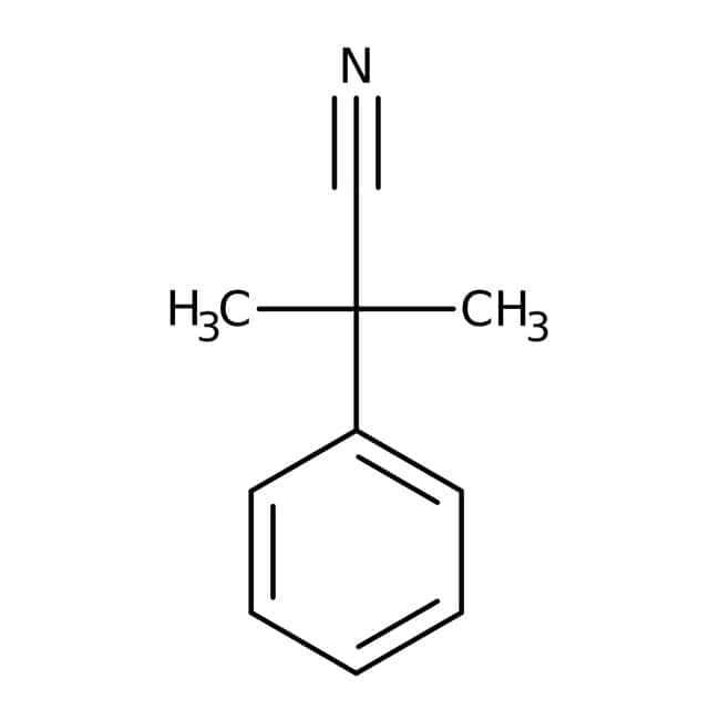 2-Methyl-2-phenylpropanenitrile, 97%, ACROS Organics