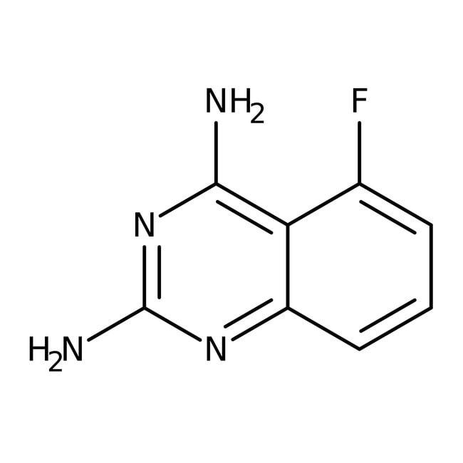 Alfa Aesar™2,4-Diamino-5-fluorchinazolin, 97%: Chemicals Produkte