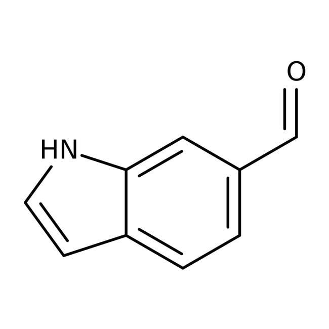 Indole-6-carboxaldehyde, 97%, ACROS Organics™