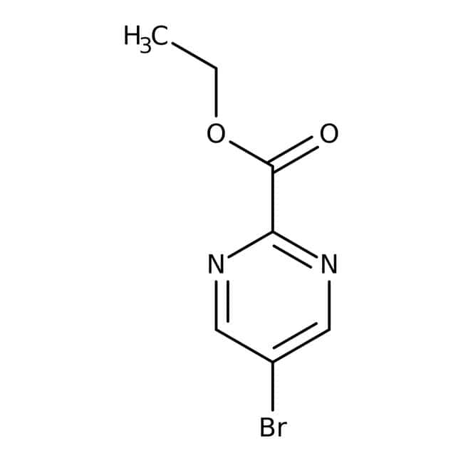 Alfa Aesar™Ethyl 5-bromopyrimidine-2-carboxylate, 95% 1g Alfa Aesar™Ethyl 5-bromopyrimidine-2-carboxylate, 95%