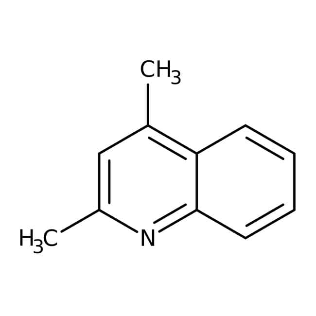 Alfa Aesar™2,4-Dimethylquinoline, 95% 500mg Alfa Aesar™2,4-Dimethylquinoline, 95%