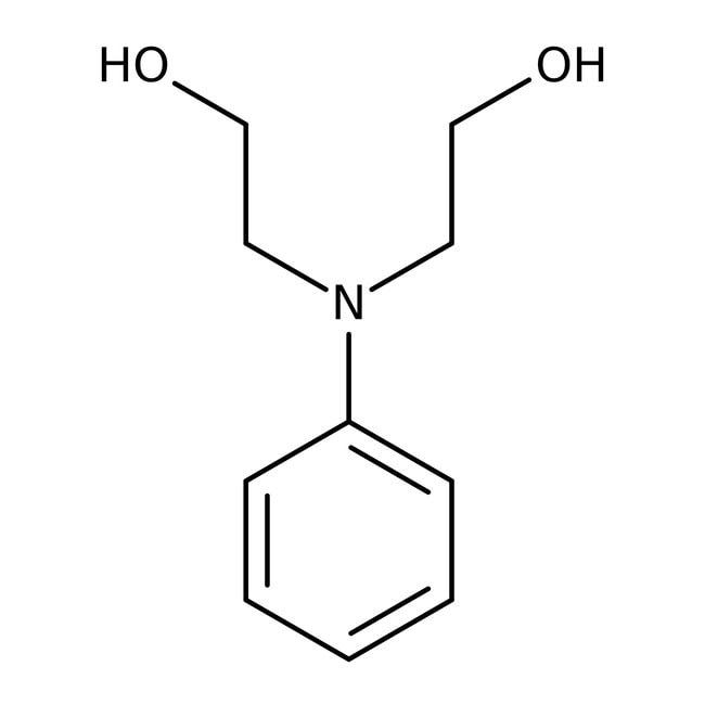 N-Phenyldiethanolamin 90-95%, ACROS Organics™ 2.5kg; Glasflasche N-Phenyldiethanolamin 90-95%, ACROS Organics™