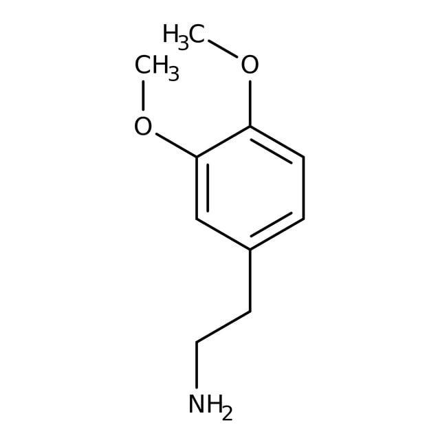 3,4-Dimethoxyphenethylamine, 98%, ACROS Organics™