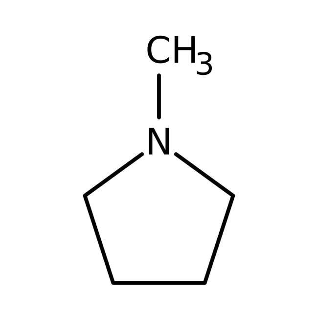 1-Methylpyrrolidin, 98%, ACROS Organics™ 100 g-Glasflasche 1-Methylpyrrolidin, 98%, ACROS Organics™