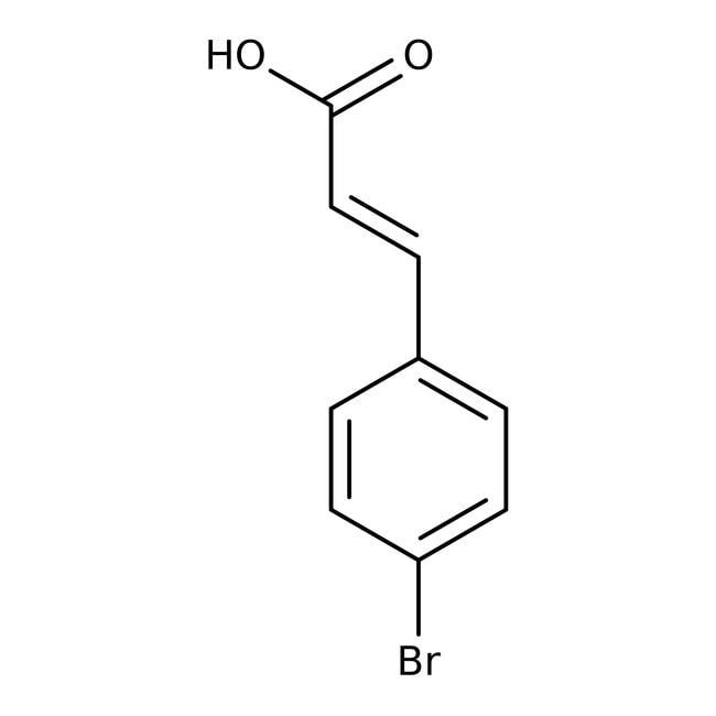 Alfa Aesar™Ácido 4-bromocinámico, predominantemente trans, +98% 100g Alfa Aesar™Ácido 4-bromocinámico, predominantemente trans, +98%