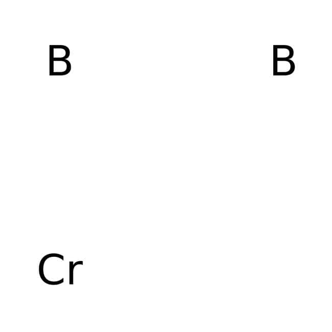 Chromium boride, Gray powder, 99% (Metals basis), Alfa Aesar