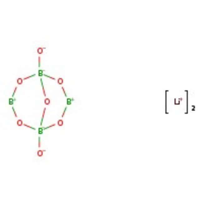 Lithium tetraborate, 98+%, for analysis, ACROS Organics™ 250g; Plastic bottle Lithium tetraborate, 98+%, for analysis, ACROS Organics™