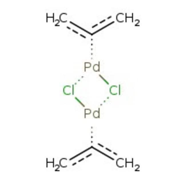 Allylpalladium chloride dimer, 98%, ACROS Organics™ 5g Allylpalladium chloride dimer, 98%, ACROS Organics™