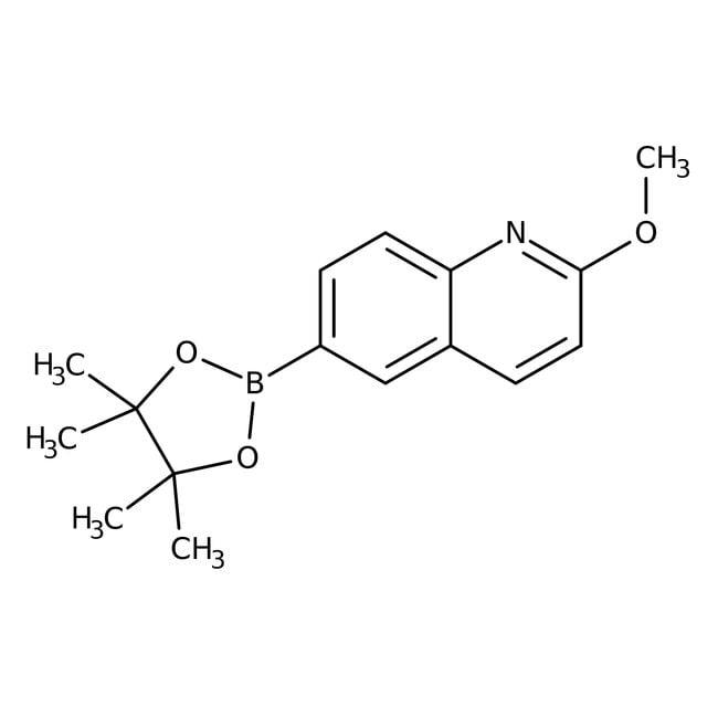 Alfa Aesar™2-Methoxyquinoline-6-boronic acid pinacol ester, 96%