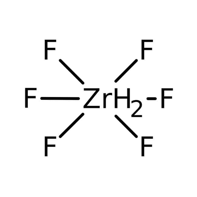 Alfa Aesar  Dihydrogen hexafluorozirconate, 20% w/w aq. soln.