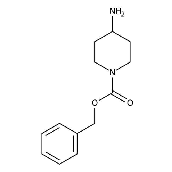Alfa Aesar™Benzyl 4-aminopiperidine-1-carboxylate, 97% 1g Alfa Aesar™Benzyl 4-aminopiperidine-1-carboxylate, 97%