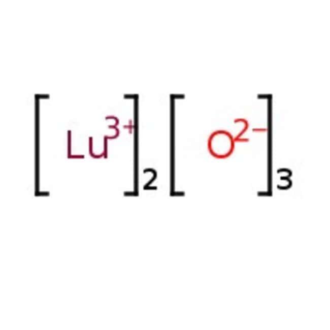 Lutetium(III) oxide, White powder, REacton , 99.99% (REO), Alfa Aesar