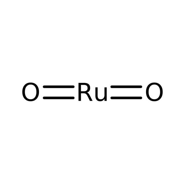 Oxyde de ruthénium(IV), qualité électronique, 99,95% (base de métaux), Alfa Aesar™, Premion™ 10g Oxyde de ruthénium(IV), qualité électronique, 99,95% (base de métaux), Alfa Aesar™, Premion™