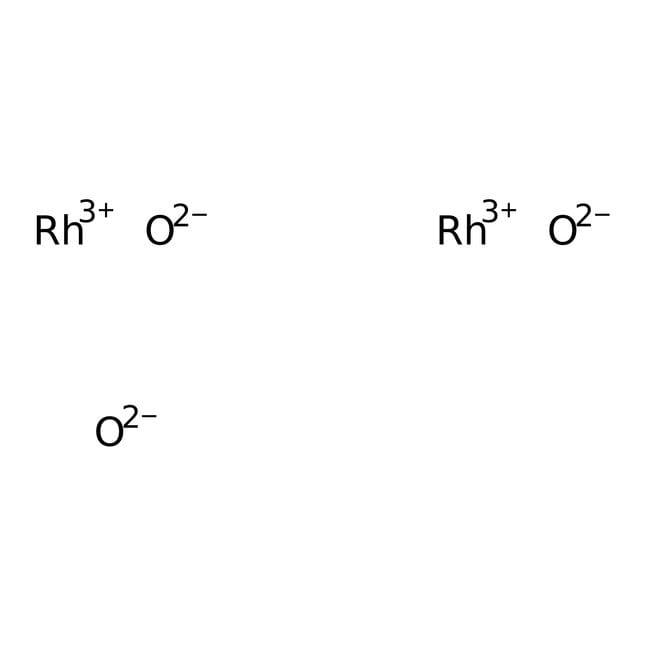 Rhodium(III) oxide hydrate, ca 56% Rh, ACROS Organics