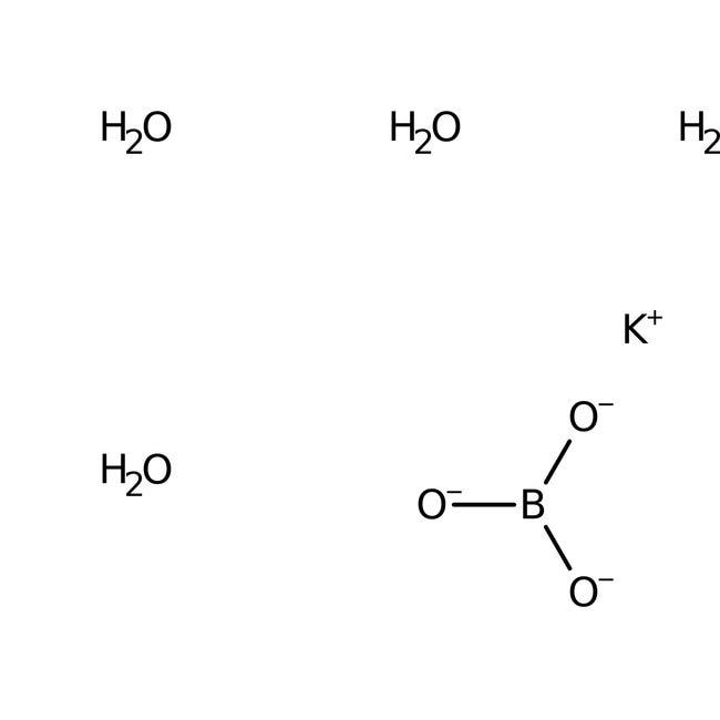 Potassium tetraborate tetrahydrate, 99.5%, extra pure, ACROS Organics™