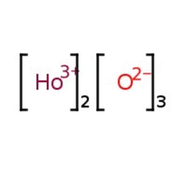 Holmium(III) oxide, Beige powder or lump, REacton™, 99.99% (REO), Alfa Aesar™