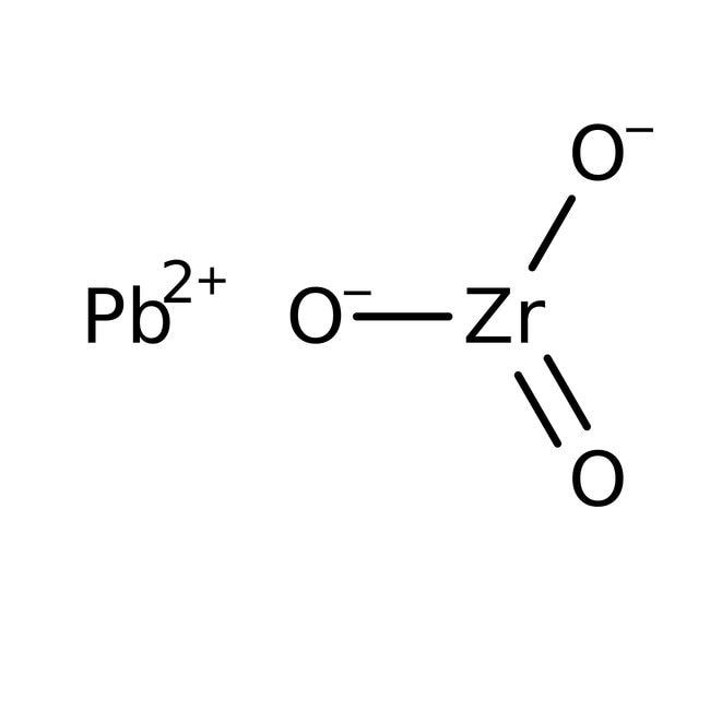 Alfa Aesar™Blei(II)-Zirkoniumoxid, Puratronic™, 99.997% (Metallbasis) 250g Alfa Aesar™Blei(II)-Zirkoniumoxid, Puratronic™, 99.997% (Metallbasis)