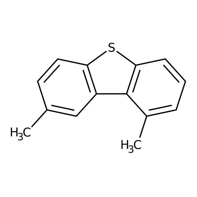 4,6-Dimethyldibenzothiophene, 95%, ACROS Organics™ 1g; Glass bottle 4,6-Dimethyldibenzothiophene, 95%, ACROS Organics™