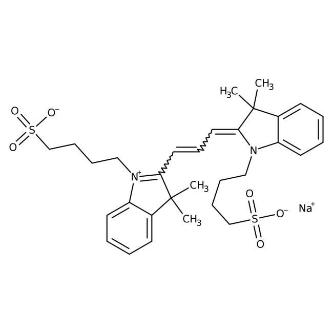 3,3,3 ,3 -Tetramethyl-1,1 -bis(4-sulfobutyl)indocarbocyanine Sodium Salt 98.0 %, TCI America
