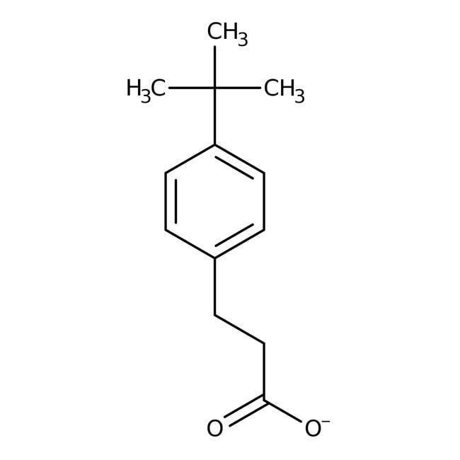 Alfa Aesar™3-(4-tert-Butylphenyl)propionic acid, 97% 25g Alfa Aesar™3-(4-tert-Butylphenyl)propionic acid, 97%