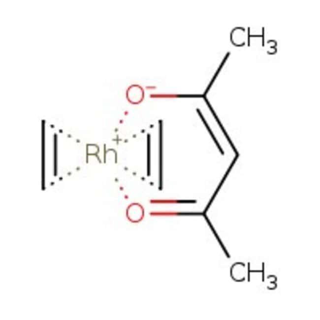 Acetylacetonatobis(ethylene)rhodium(I), 99%, ACROS Organics