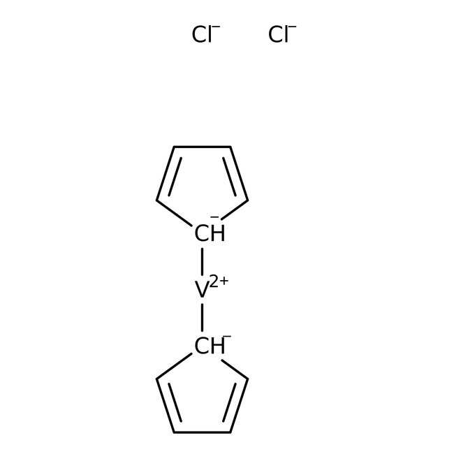 Bis(cyclopentadienyl)vanadium dichloride, 95%, ACROS Organics™