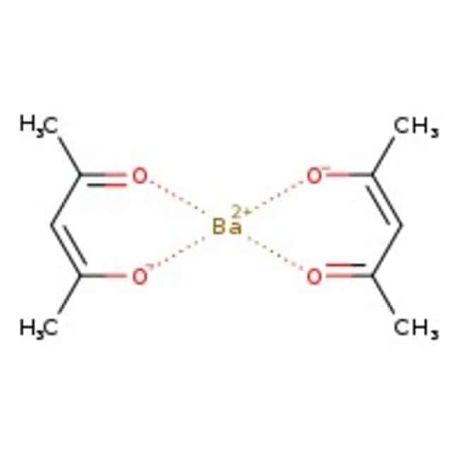 Alfa Aesar™Hydrate de 2,4-pentanédionate de baryum 100g Alfa Aesar™Hydrate de 2,4-pentanédionate de baryum
