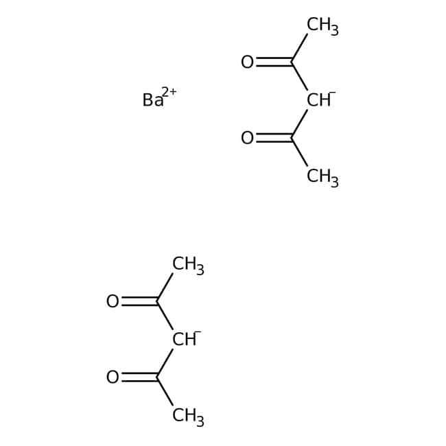 Alfa Aesar™Barium 2,4-pentanedionate hydrate 100g Alfa Aesar™Barium 2,4-pentanedionate hydrate