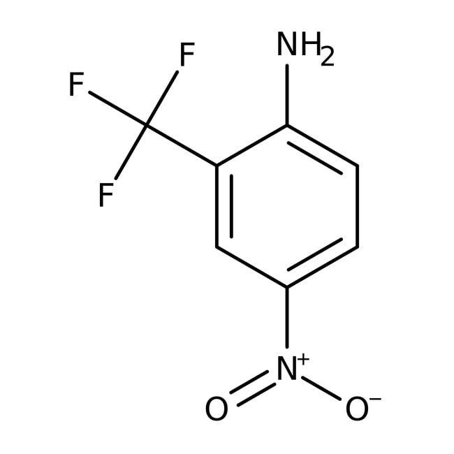 2-Amino-5-nitrobenzotrifluoride, 98%, ACROS Organics™ 5g; Glass bottle 2-Amino-5-nitrobenzotrifluoride, 98%, ACROS Organics™