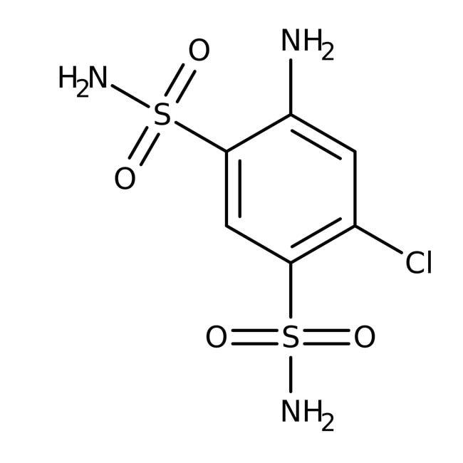 4-Amino-6-chloro-1,3-benzenedisulfonamide, 98%, ACROS Organics™