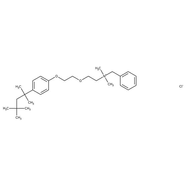 Benzethonium chloride, 97%, ACROS Organics™