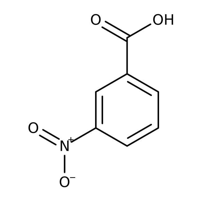 Acide 3-nitrobenzoïque, 98%, ACROS Organics™ 100g ; flacon en plastique Acide 3-nitrobenzoïque, 98%, ACROS Organics™