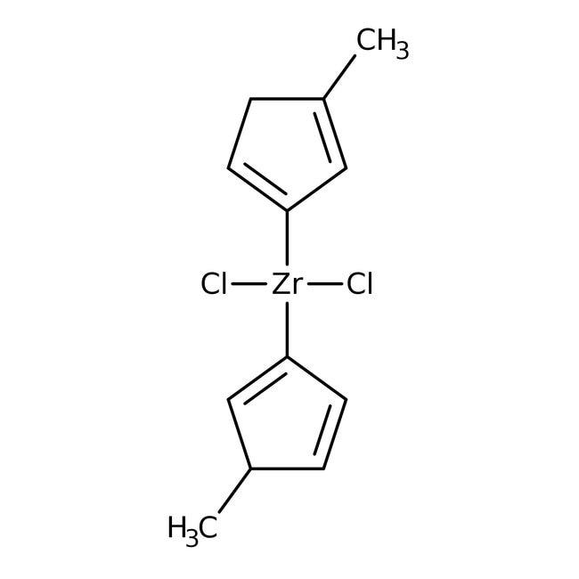 Alfa Aesar™Bis(méthylcyclopentadiényl)dichlorure de zirconium, 98% 1g Alfa Aesar™Bis(méthylcyclopentadiényl)dichlorure de zirconium, 98%