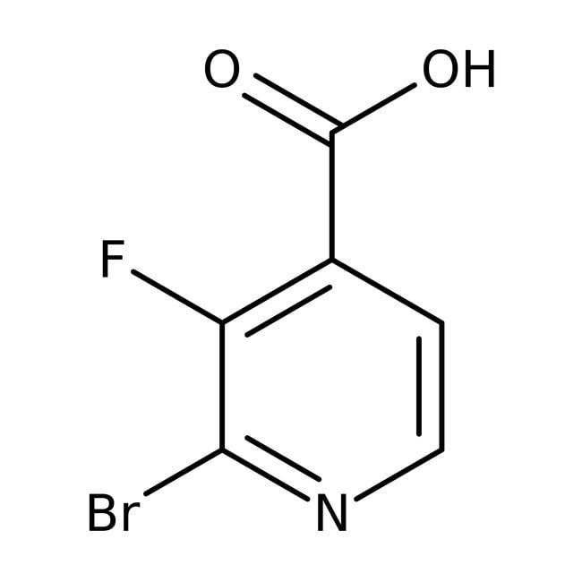 Alfa Aesar™2-Brom-3-fluorpyridin-4-carbonsäure, 98% 1g Alfa Aesar™2-Brom-3-fluorpyridin-4-carbonsäure, 98%