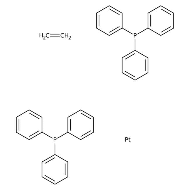 Ethylenebis(triphenylphosphine)platinum(0), 98%, Acros Organics