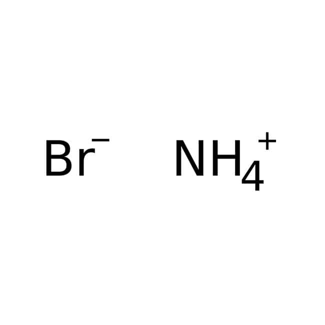 Ammonium bromide, 99+%, for analysis, ACROS Organics