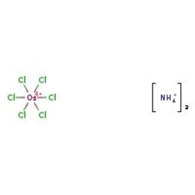 Alfa Aesar™Ammonium hexachloroosmate(IV), Premion™, 99.99% (metals basis), Os 42.8% min